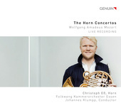 Album artwork for Mozart: The Horn Concertos (Live)