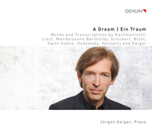 Album artwork for A Dream - Works and Transcriptions by Rachmaninoff