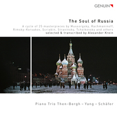 Album artwork for The Soul of Russia