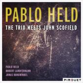 Album artwork for Pablo Held Trio Meets John Scofield