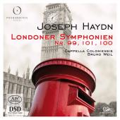 Album artwork for Haydn: Symphonies 99, 100, 101 / Weil