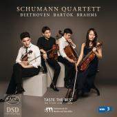 Album artwork for Beethoven, Bartók & Brahms: String Quartets