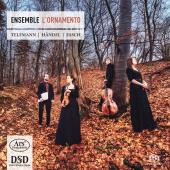 Album artwork for Ensemble L'Ornamento play Telemann, Händel, Fasc