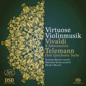 Album artwork for Virtuose Violinmusik