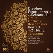 Album artwork for Dresdner Fagottkonzerte aus Schranck II