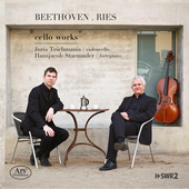 Album artwork for Beethoven & Ries: Cello Works