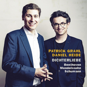Album artwork for DICHTERLIEBE - Lieder of Schumann, Beethoven, Mend
