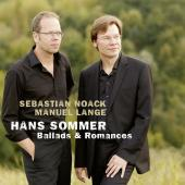 Album artwork for Sommer: BALLADES & ROMANCES for BARITONE