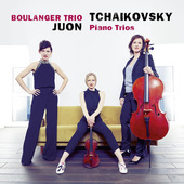 Album artwork for PIANO TRIOS