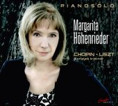 Album artwork for Chopin & Liszt Sonatas - Hohenrieder