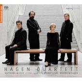 Album artwork for Hagen Quartet: Beethoven / Mozart / Webern String