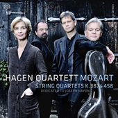 Album artwork for Mozart: String Quartets, K. 387 & 458