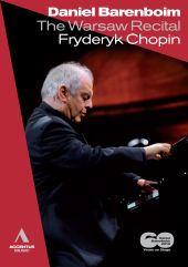 Album artwork for WARSAW RECITAL: DANIEL BARENBOIM