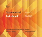 Album artwork for Szymanowski: Overture, Op. 12 - Lutoslawski: Cello
