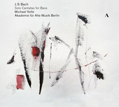 Album artwork for Bach: Solo Cantatas for Bass