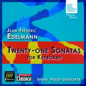 Album artwork for Edelmann: 21 Keyboard Sonatas