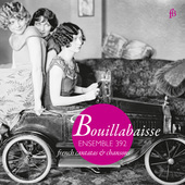 Album artwork for Bouillabaisse: French cantatas & chansons
