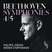 Album artwork for Beethoven: Symphonies Nos. 4 & 5 / Jordan