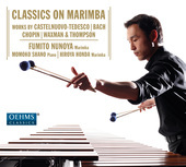 Album artwork for Classics on Marimba