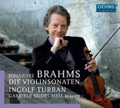 Album artwork for Brahms: The Violin Sonatas (Live)