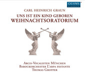 Album artwork for Graun: Weihnachtsoratorium (Christmas Oratorio)
