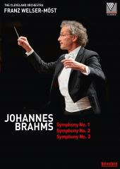 Album artwork for Brahms: Symphonies Nos. 1-3