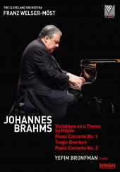Album artwork for Brahms: Variations on a Theme by Haydn - Piano Con