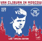 Album artwork for VAN CLIBURN IN MOSCOW
