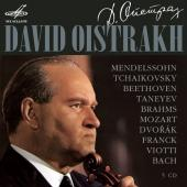 Album artwork for David Oistrakh Melodiya box - 5 CD