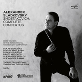 Album artwork for Shostakovich: Complete Concertos / Sladkovsky