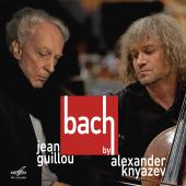 Album artwork for Bach by Jean Guillou and Alexander Knyazev