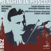 Album artwork for Menuhin in Moscow Vol. 1