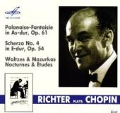 Album artwork for Richter Plays Chopin