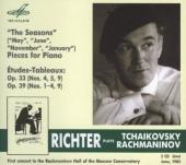 Album artwork for Richter Plays Tchaikovsky & Rachmaninov