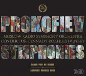 Album artwork for Prokofiev: Symphonies / Rozhdestvensky