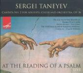 Album artwork for Taneyev: At the Reading of a Psalm