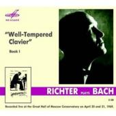 Album artwork for Well-Tempered Clavier, Book 1 / Richter, Live 1969