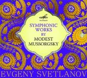 Album artwork for Mussorgsky: Symphonic Works