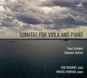 Album artwork for Schubert / Brahms: Sonatas for Viola & Piano