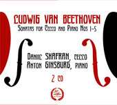 Album artwork for Beethoven: Cello Sonatas / Shafran, Ginsburg