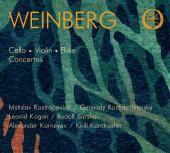 Album artwork for WEINBERG: CONCERTOS