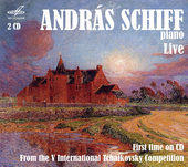 Album artwork for ANDRAS SCHIFF, PIANO. LIVE