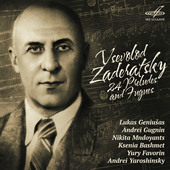 Album artwork for Zaderatsky: 24 Preludes and Fugues