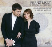 Album artwork for LISZT: 2 SONATAS FOR 2 PIANOS