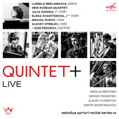 Album artwork for QUINTET+
