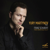 Album artwork for Yury Martynov. Schubert
