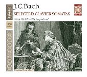 Album artwork for J.C. Bach: Selected Clavier Sonatas