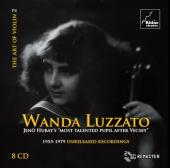 Album artwork for ART OF VIOLIN vol. 2 - Wanda Luzzato