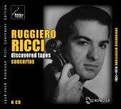 Album artwork for Ruggiero Ricci - Discovered Tapes - Concertos 6-CD