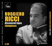 Album artwork for Ruggiero Ricci - Discovered Tapes - Showpieces
